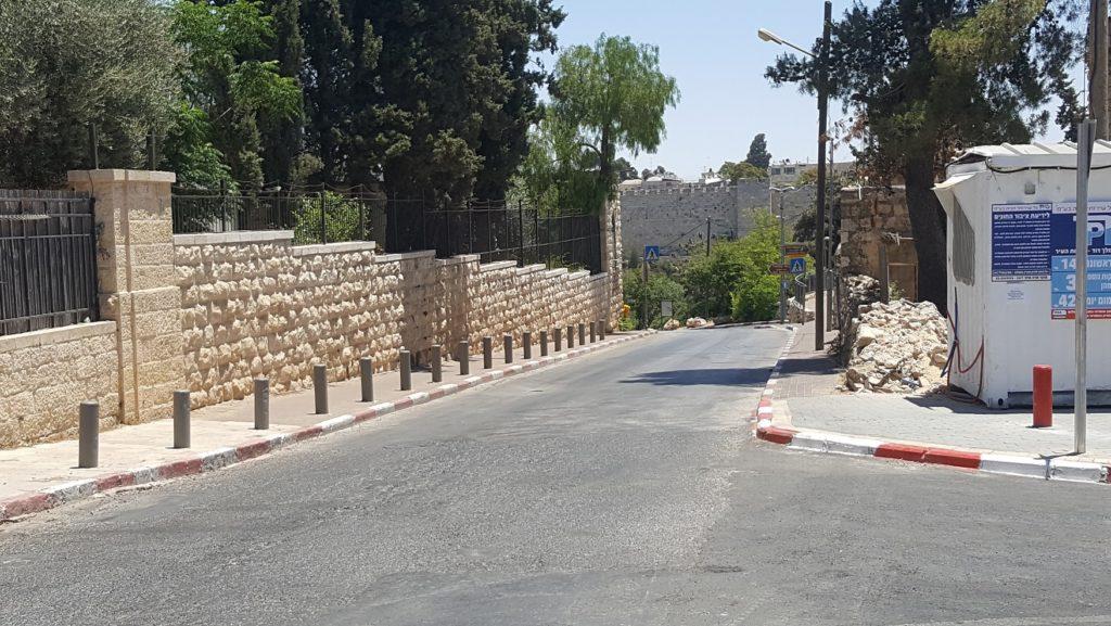 חניון המלך דוד-חומות העיר ירושלים